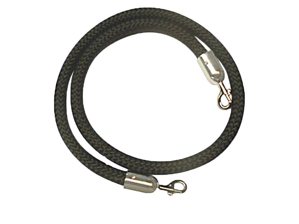 Q Stand Ropes 1.5m Chrome Ends