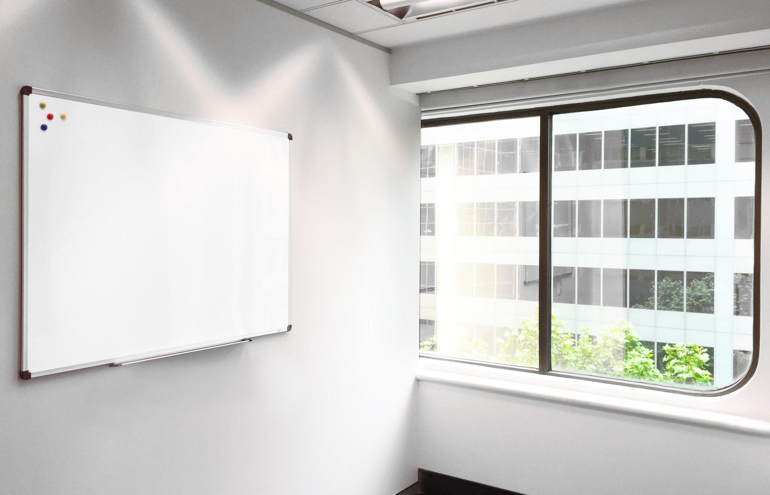 Porcelain Standard Frame Whiteboard + Bonus Starter Kit