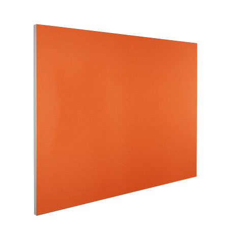 Bulletin Board Slim Frame Pinboard