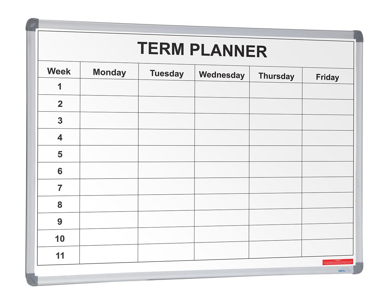 School Term Planner Whiteboards